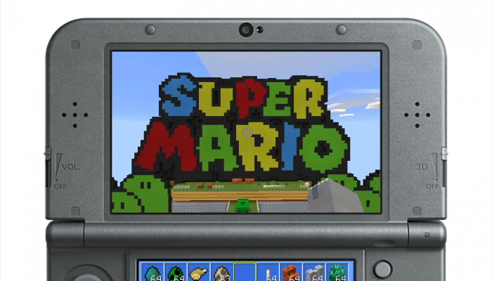 Super Mario Mash-Up Pack now available for Minecraft New Nintendo 3DS Edition