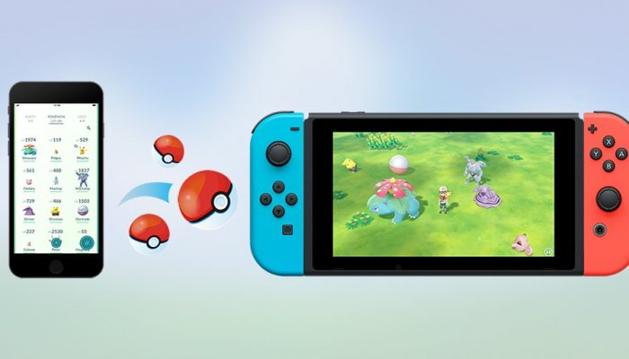 Kanto Pokémon caught in Pokémon Go can be brought to the Pokémon Let's Go games
