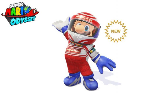 Racing Helmet & Racing Outfit added to Super Mario Odyssey