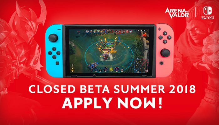 Arena of Valor Closed Beta coming to Nintendo Switch