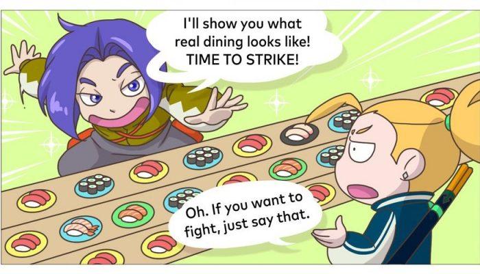 Musashi and Kojiro talk Sushi Striker