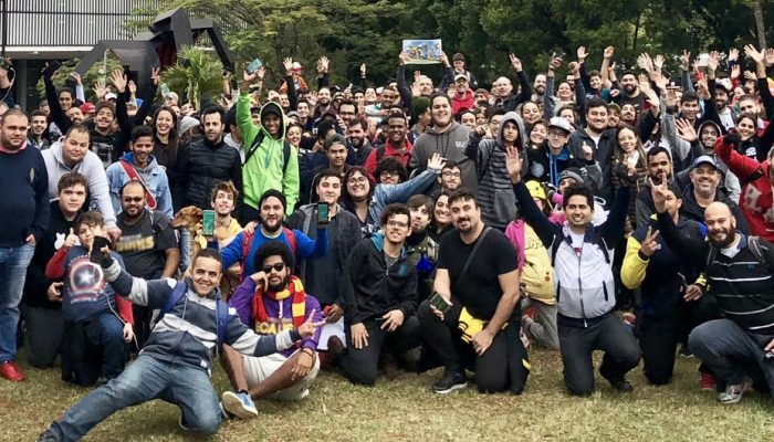 This is how June's Pokémon Go Community Day went down in São Paulo, Brazil