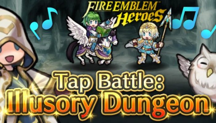 Tap Battle Illusory Dungeon Legendary Heroes in Fire Emblem Heroes