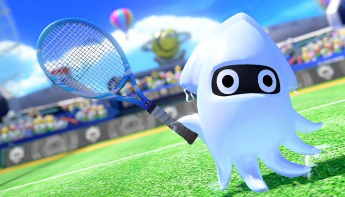Koopa Troopa and Blooper are coming to Mario Tennis Aces