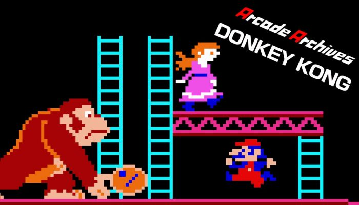 Arcade Archives Donkey Kong now available on Nintendo Switch