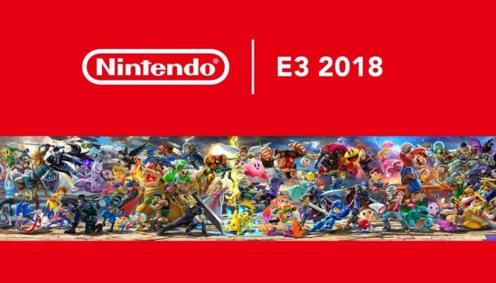 Nintendo France : 'Nintendo annonce un imposant catalogue de jeux pour 2018 et de nouvelles informations concernant Super Smash Bros. Ultimate'