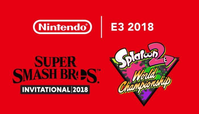 Nintendo France : 'Nintendo couronne les vainqueurs des tournois et dévoile de nouvelles informations lors de la première journée de l'E3'