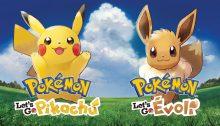 Pokémon Let's Go Pikachu Évoli