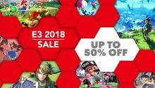 Nintendo eShop Sale E3 2018