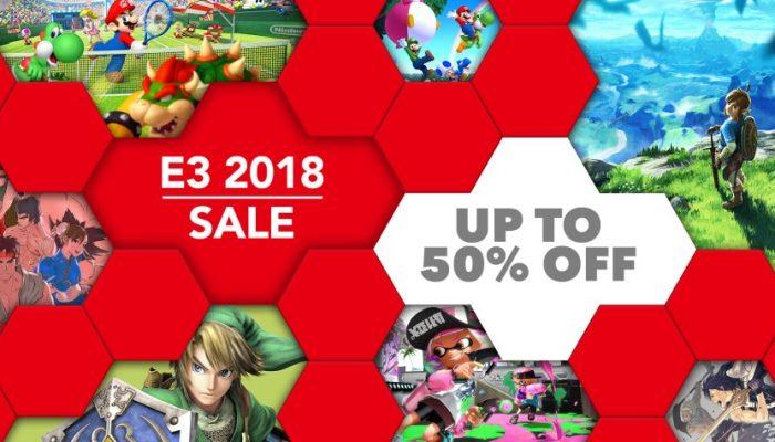 NoE: 'Nintendo eShop sale: E3 2018 Sale'