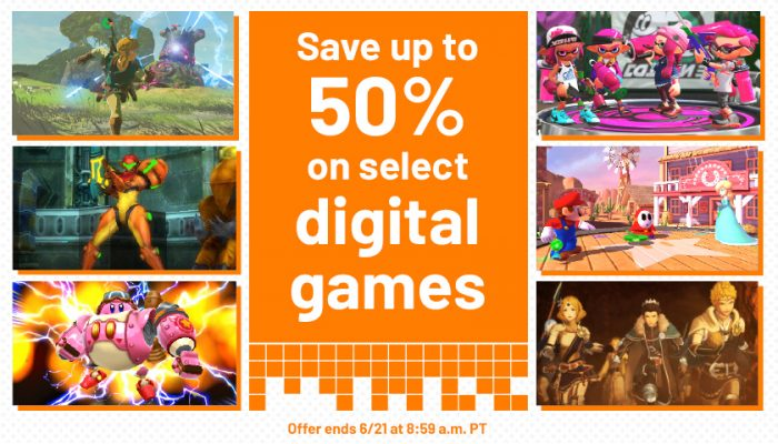 NoA: 'Celebrate E3 2018 with up to 50% off select digital games'