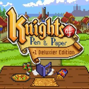 Nintendo eShop Downloads Europe Knights of Pen and Paper +1 Deluxier Edition