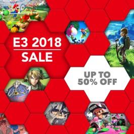 Nintendo eShop Downloads Europe E3 2018 Sale