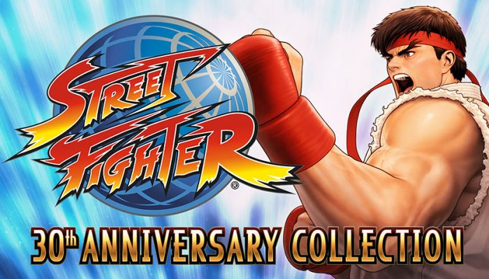 NoA: 'Play 12 classic Street Fighter games with Street Fighter 30th Anniversary Collection!'