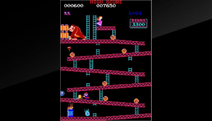 Arcade Archives Donkey Kong – Nintendo E3 2018 Screenshots