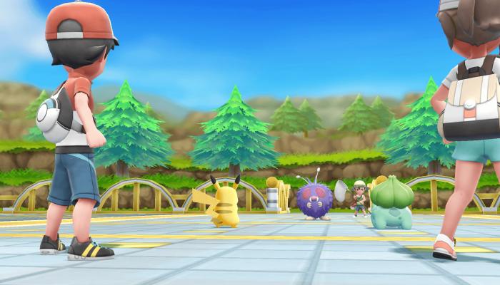 Pokémon: Let's Go, Pikachu! & Let's Go, Eevee! – Nintendo E3 2018 Screenshots