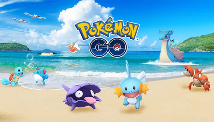 Pokémon: 'Make a Splash in Pokémon Go!'