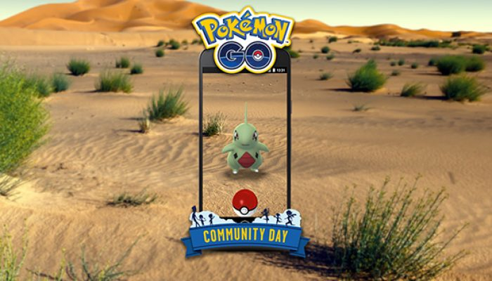 Pokémon: 'Larvitar Rocks on Pokémon Go Community Day'