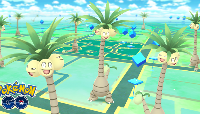 Niantic: 'Say Alola to Pokémon: Let's Go, Pikachu! and Let's Go, Eevee! with Alolan Exeggutor'