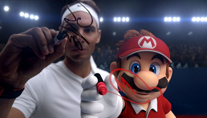 NoA: 'Tennis superstar Rafael Nadal takes on video game superstar Mario in new Mario Tennis Aces trailer'