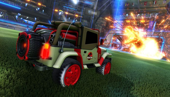 Rocket League: 'Jurassic World Car Pack DLC Coming June 18'