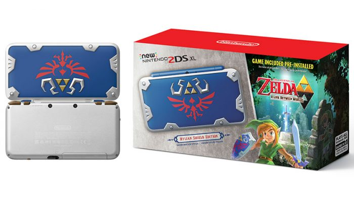 NoA: 'Legendary New Nintendo 2DS XL system coming exclusively to GameStop stores on July 2'
