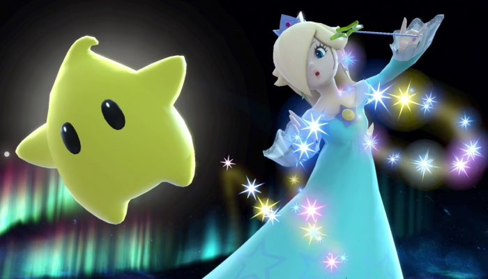 Super Smash Bros. Ultimate – Rosalina & Luma Fighter Screenshots
