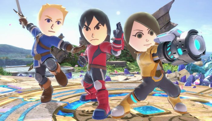 Super Smash Bros. Ultimate – Mii Fighter Screenshots