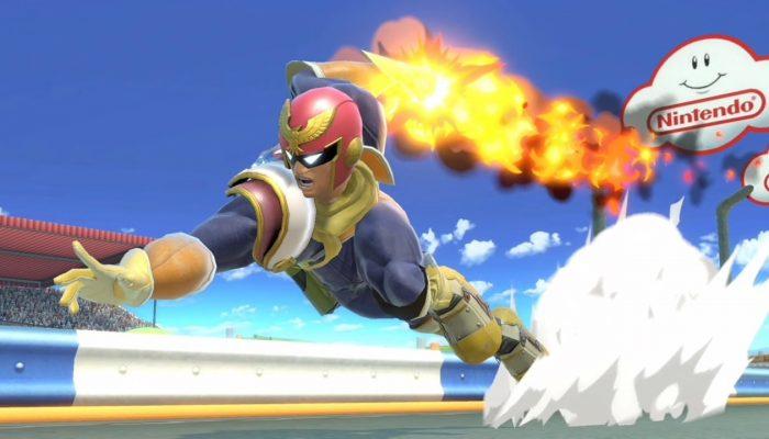Super Smash Bros. Ultimate – Captain Falcon Fighter Screenshots