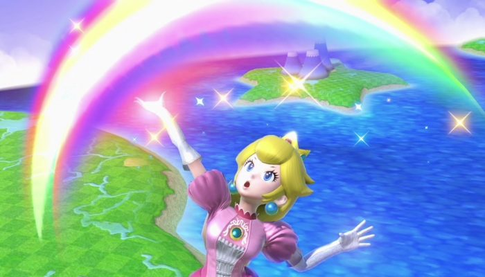 Super Smash Bros. Ultimate – Peach Fighter Screenshots
