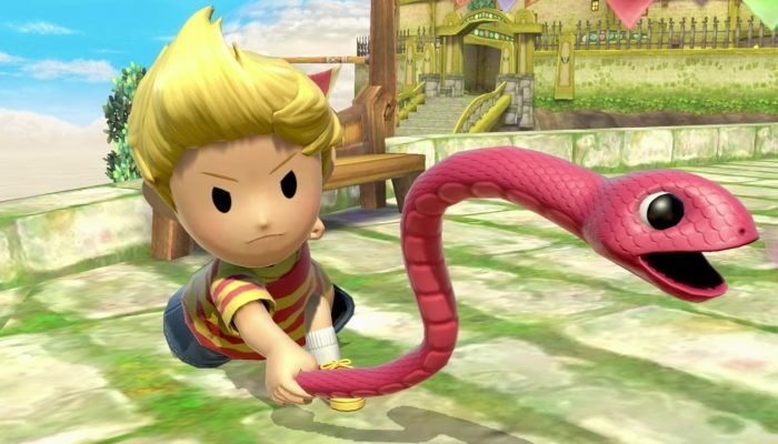 Super Smash Bros. Ultimate – Lucas Fighter Screenshots