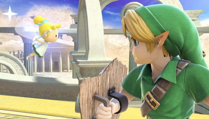 Super Smash Bros. Ultimate – Young Link Fighter Screenshots