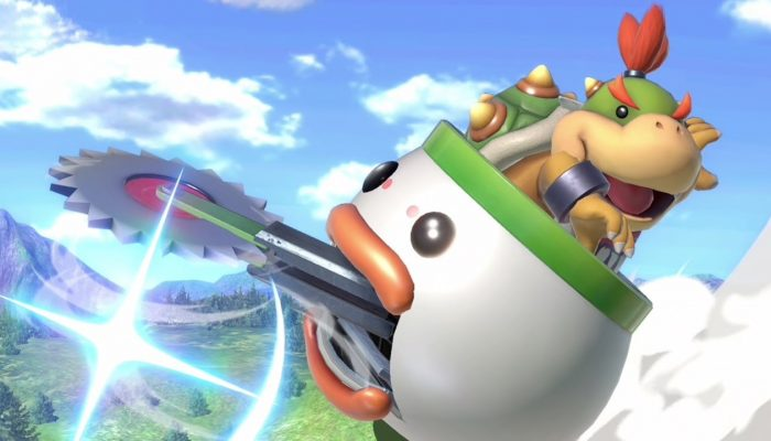 Super Smash Bros. Ultimate – Bowser Jr. Fighter Screenshots