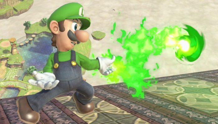 Super Smash Bros. Ultimate – Luigi Fighter Screenshots