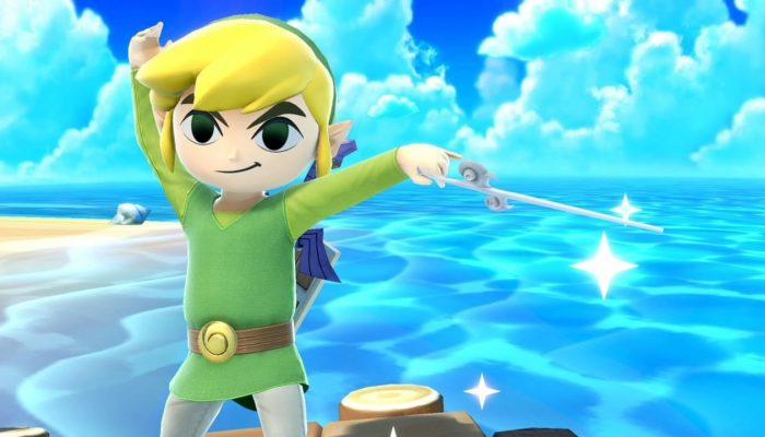 Super Smash Bros. Ultimate – Toon Link Fighter Screenshots