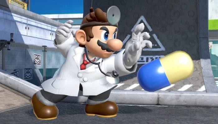 Super Smash Bros. Ultimate – Dr. Mario Fighter Screenshots