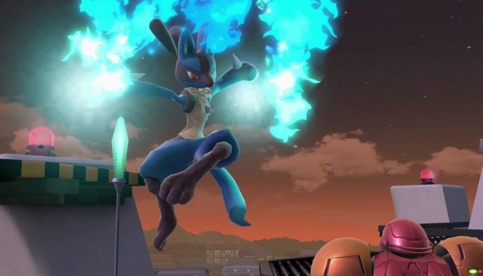 Super Smash Bros. Ultimate – Lucario Fighter Screenshots