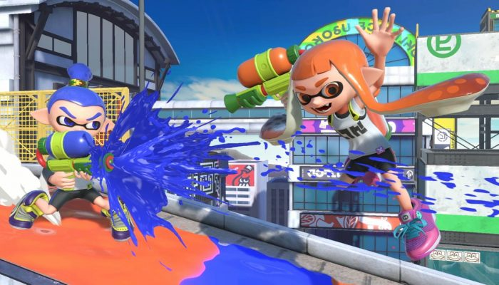 Super Smash Bros. Ultimate – Inkling Fighter Screenshots