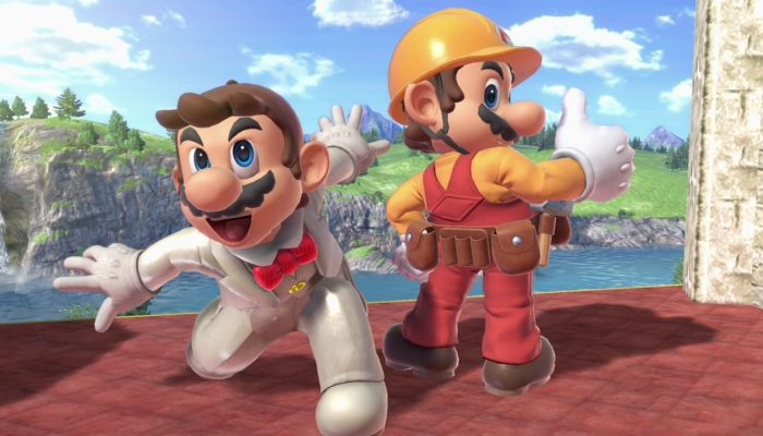 Super Smash Bros. Ultimate – Mario Fighter Screenshots
