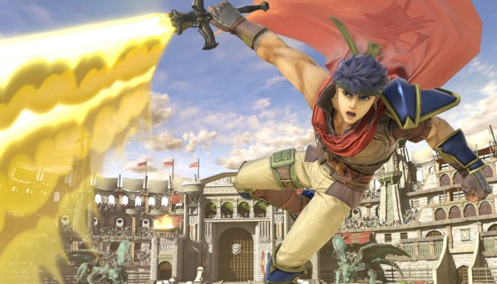 Super Smash Bros. Ultimate – Ike Fighter Screenshots