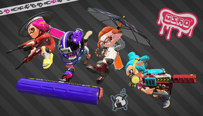NoA: 'New stage and weapons available: Squid Research Lab Report'