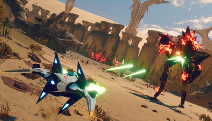 Ubisoft: 'Starlink: Battle for Atlas – Fighting, Flying And Fast Customization In A Star Fox Arwing – E3 2018'
