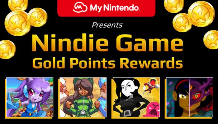 NoA: 'My Nintendo presents Nindie Game Gold Point Rewards: Summer 2018 Edition'