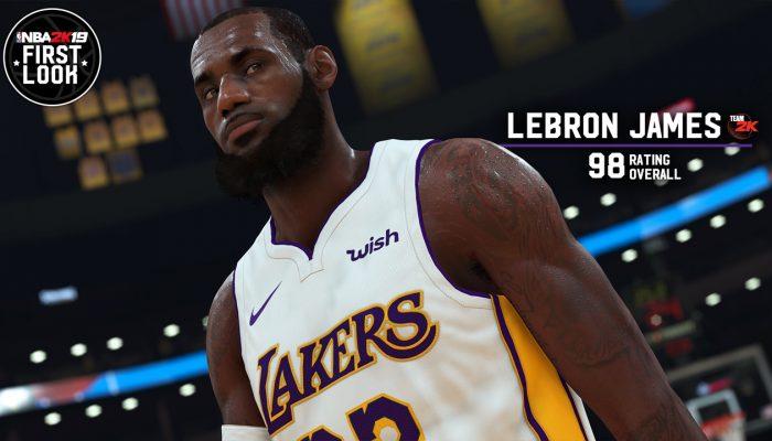 NBA 2K19 – First Look Screenshots