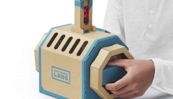 Nintendo Labo – Vehicle Kit Reveal Screenshots