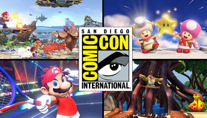 NoA: 'Nintendo brings Super Smash Bros. Ultimate to fans at San Diego Comic-Con'