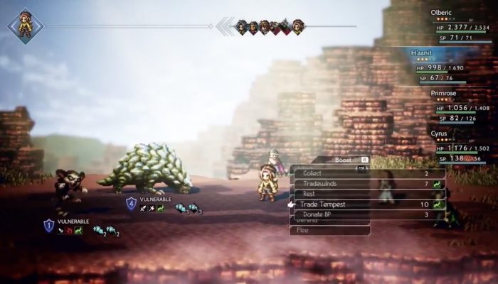 A quick look at the double job system in Octopath Traveler
