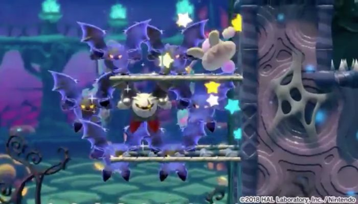 Another look at Dark Meta Knight in Kirby Star Allies