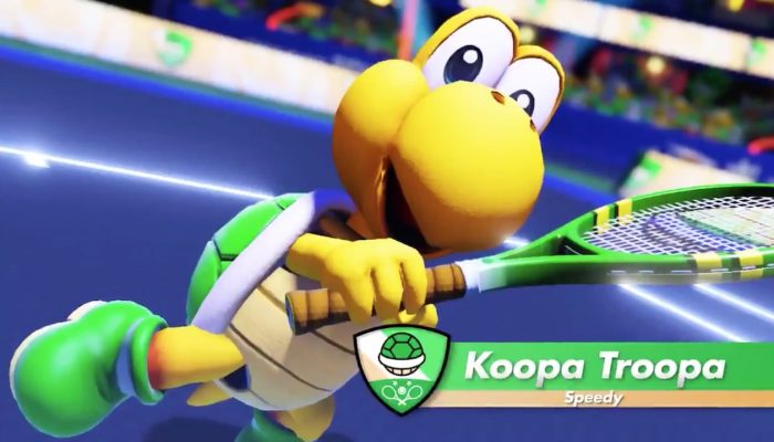 Play Koopa Troopa in this July's Mario Tennis Aces tournament