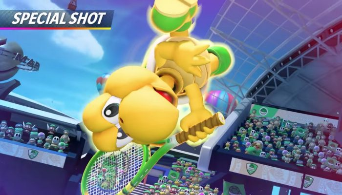 Mario Tennis Aces – Koopa Troopa Showcase